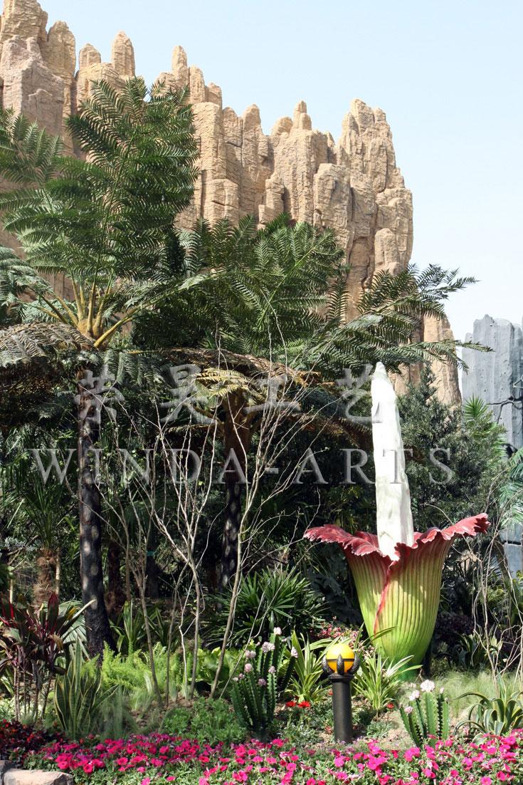 Dinosaur Park - Titan Amorphophallus