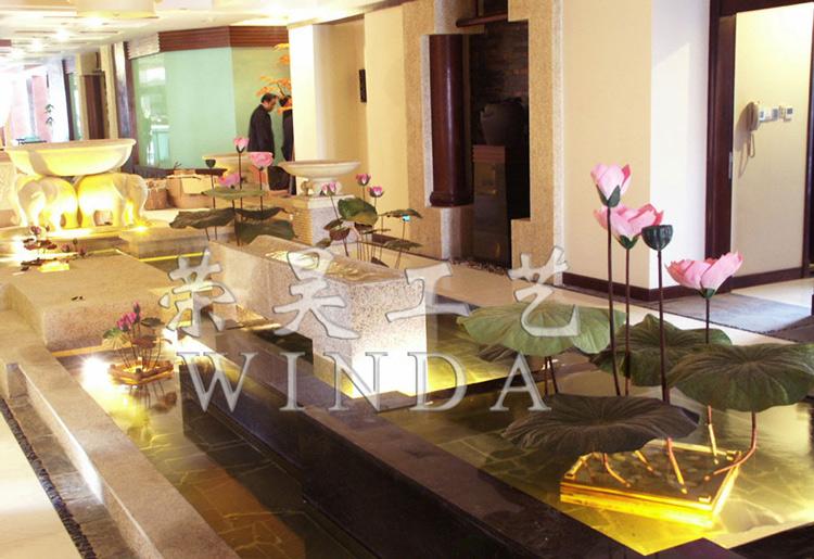 Lotus in Zhangmutou Garden Hotel, Dongguan